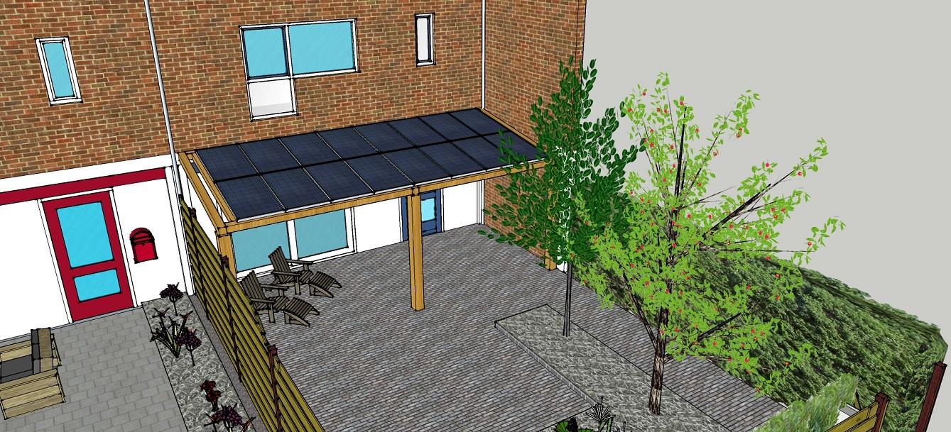 Top Nog een idee: veranda ( met zonnepanelen ) | Familie Kleinman BLOG #LD71